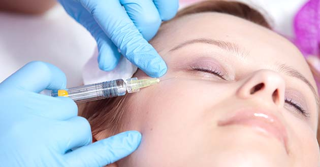 Mesotherapy against under eye bags